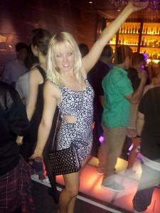 Light-up disco dance floor