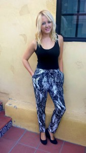 Pants, H&M. Tank, H&M. Wedges, Payless Shoesource