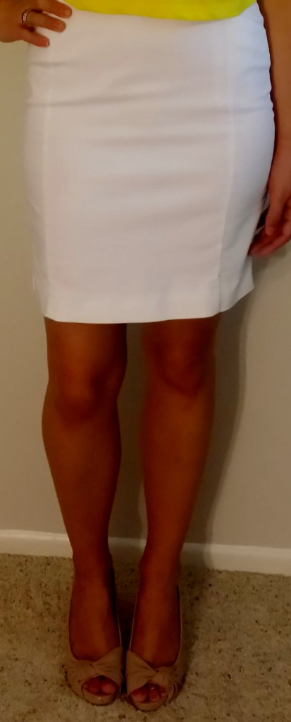 I love this H&M pencil skirt