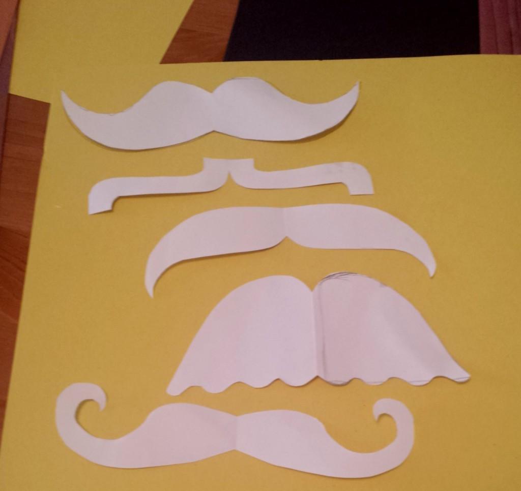 Sillier moustache templates
