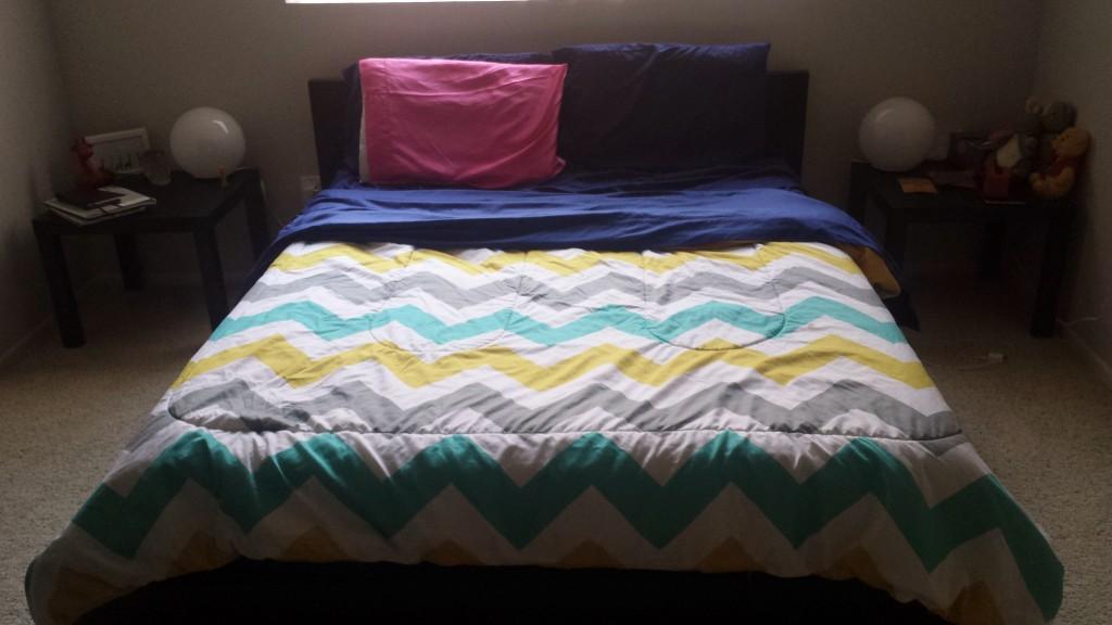 Bed & nightstands