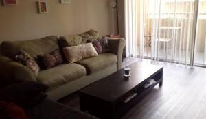 Living room & balcony