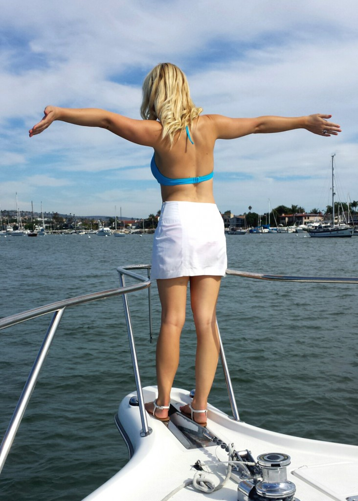 When on a boat, one MUST do the Titanic pose