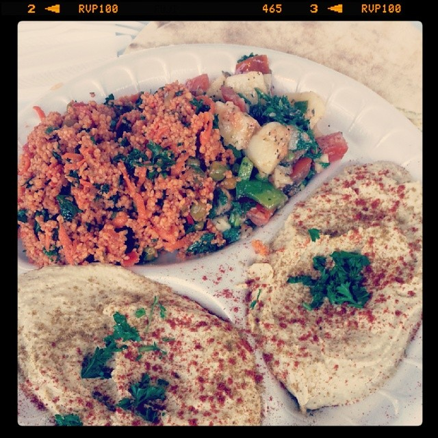 moishe's hummus and couscous