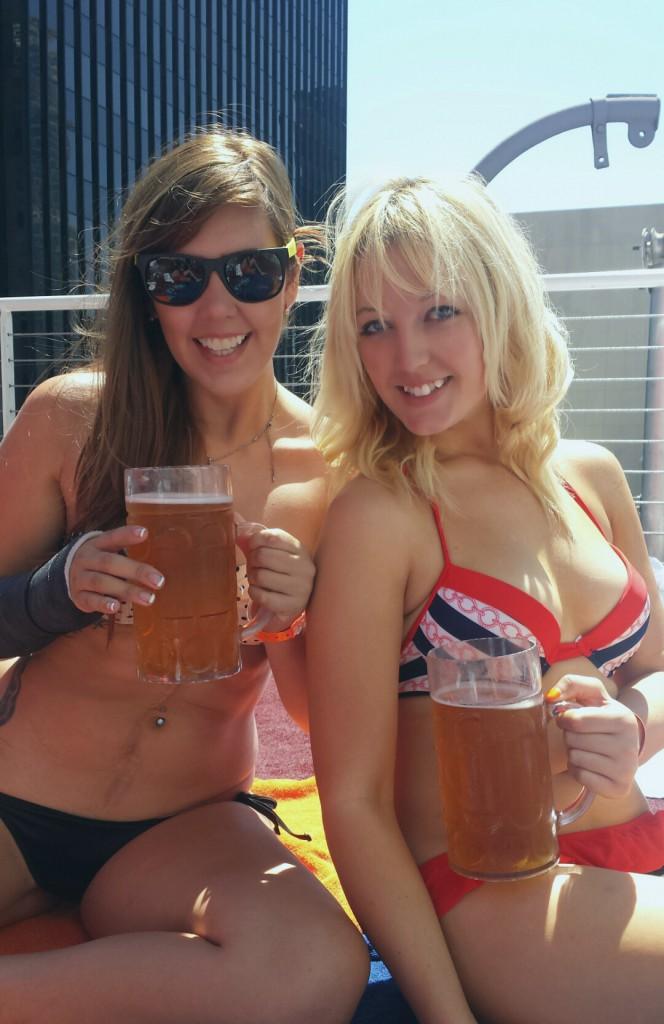 Bikinis and beer