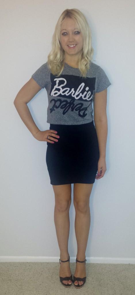 Barbie Crop Top for Work