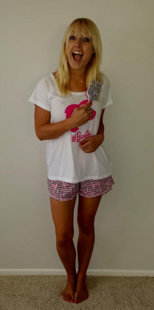 Barbie pajamas 3