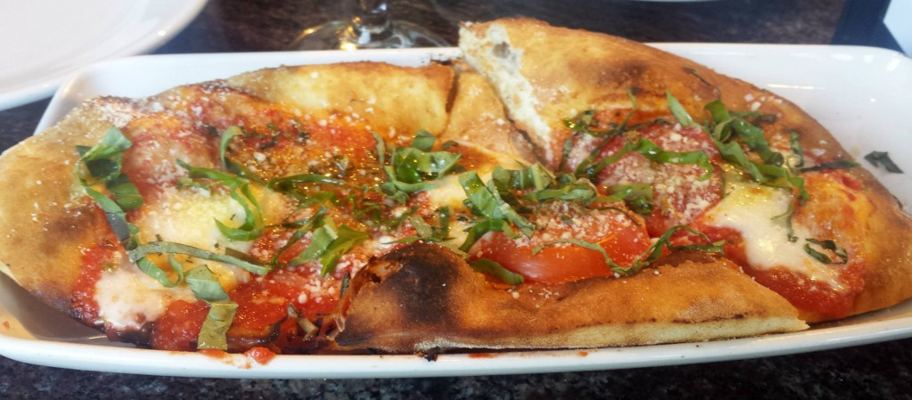 Margherita flatbread