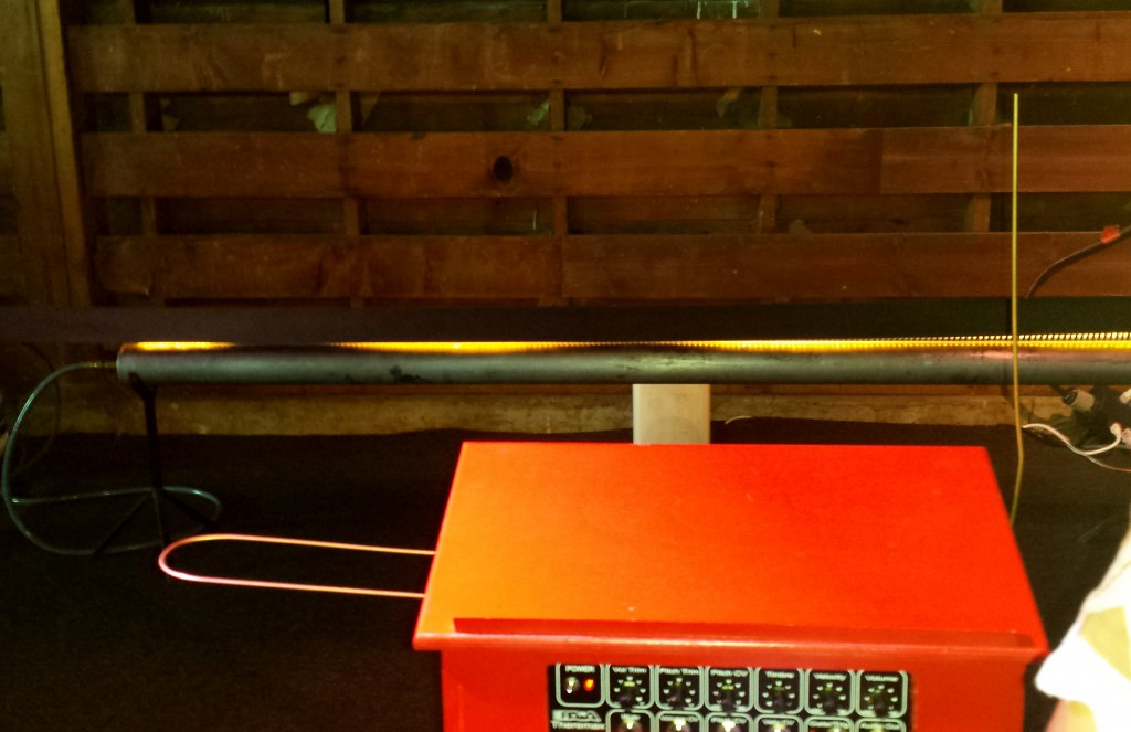Fire Theremin