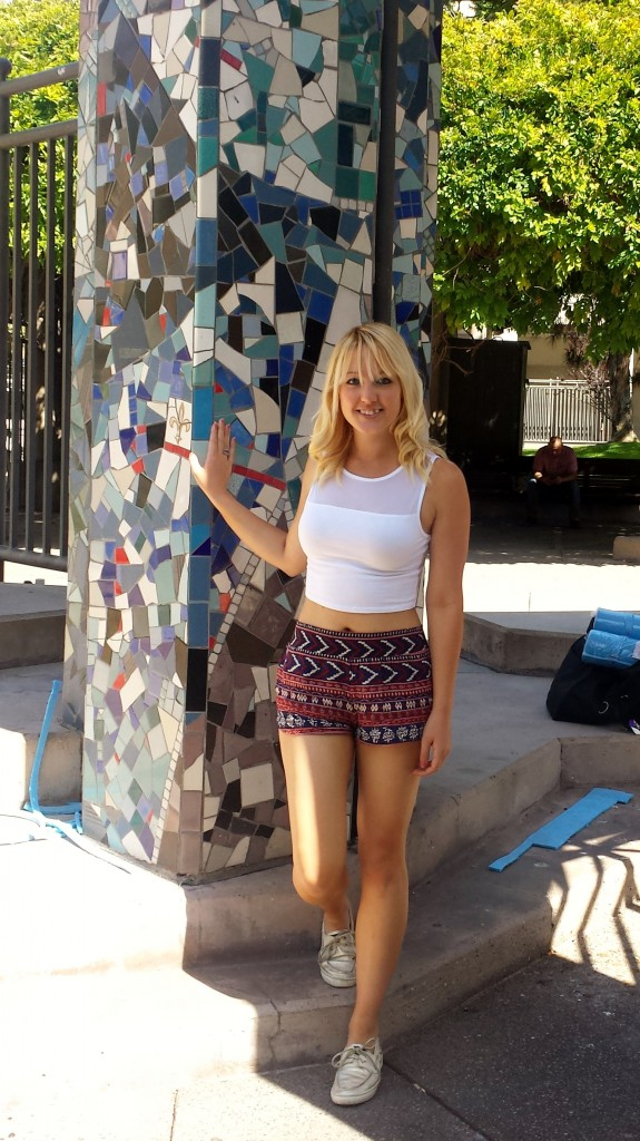 FIDM Shorts and Crop Top 2