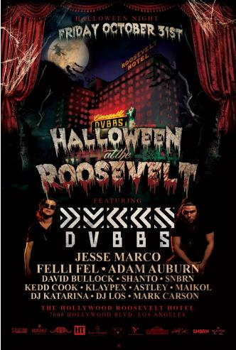 Halloween at the Roosevelt