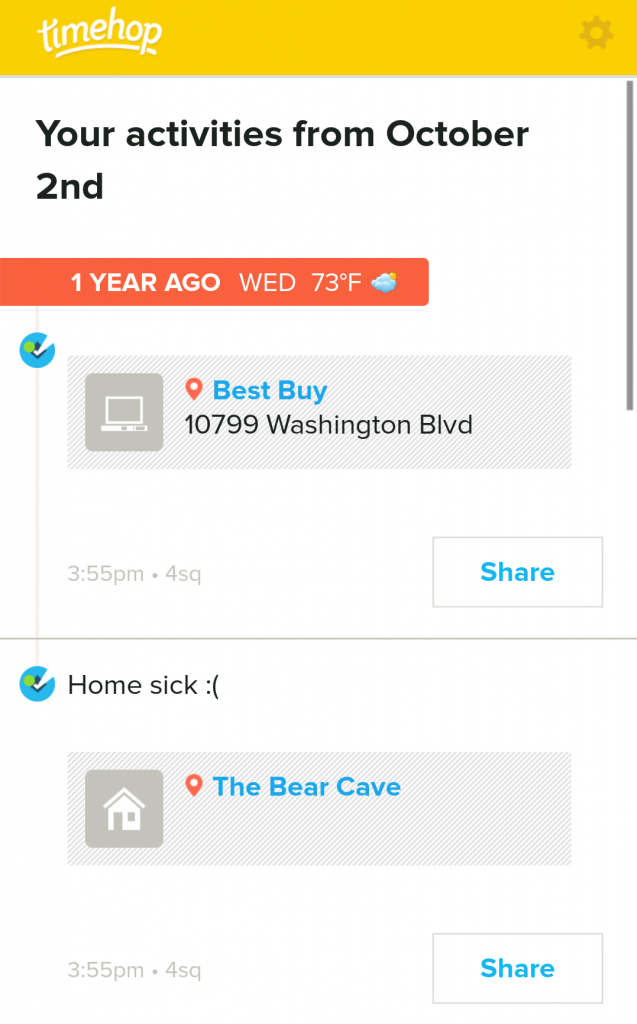 I was sick one year ago, and this year too! #Trend?