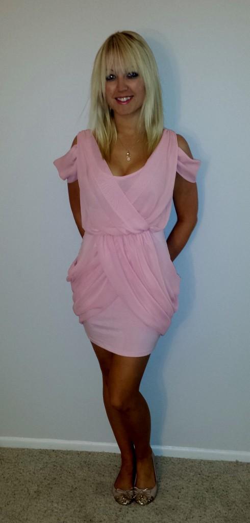 Baby pink dress 3