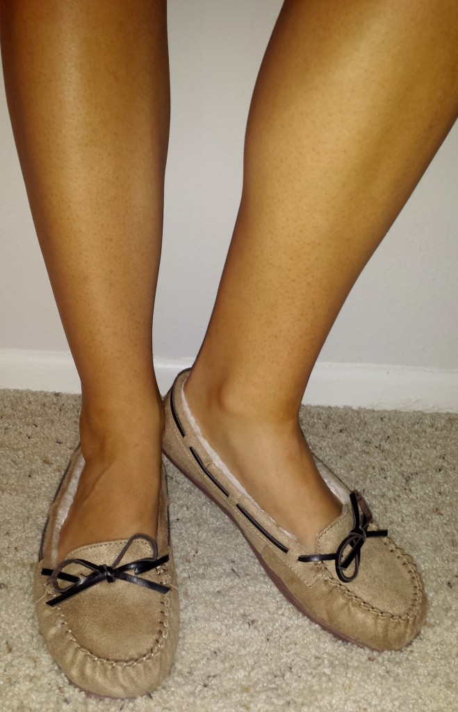 New shoes - brown moccasins 3