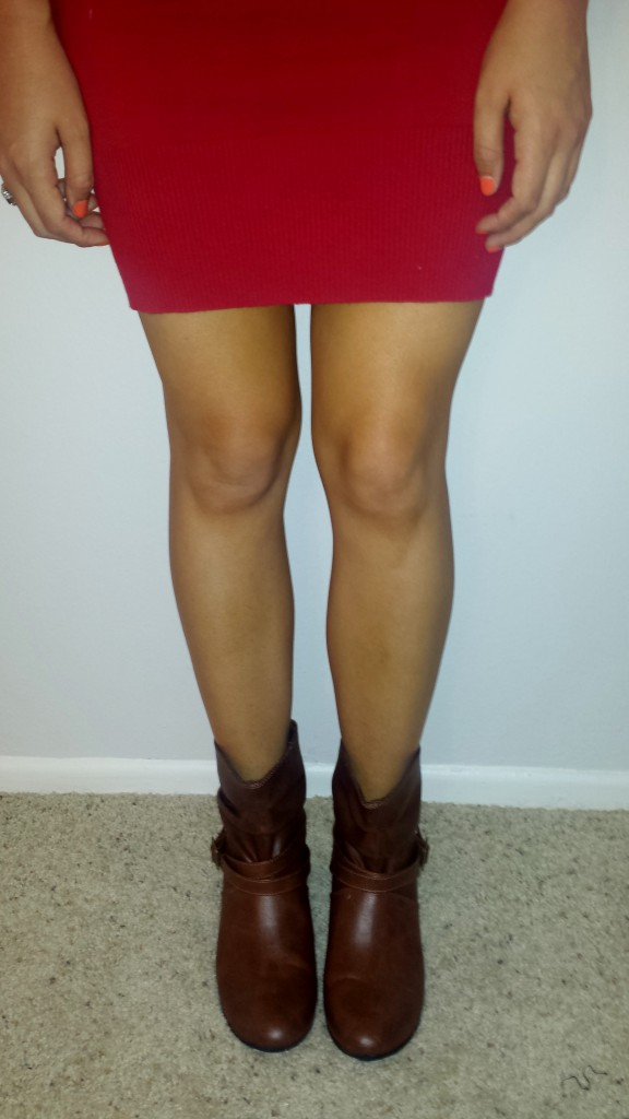 New shoes - dark brown boots 2