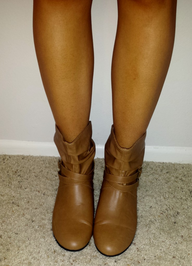 New shoes - light brown boots 2
