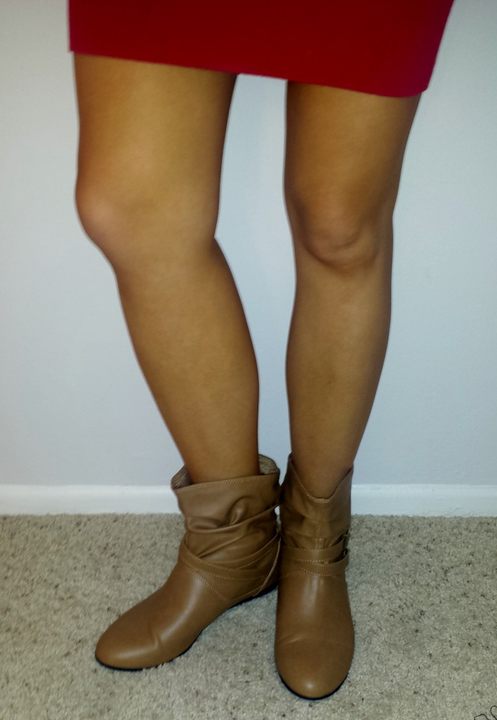 New shoes - light brown boots 3
