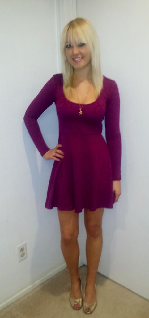 Pink Lace Dress 1