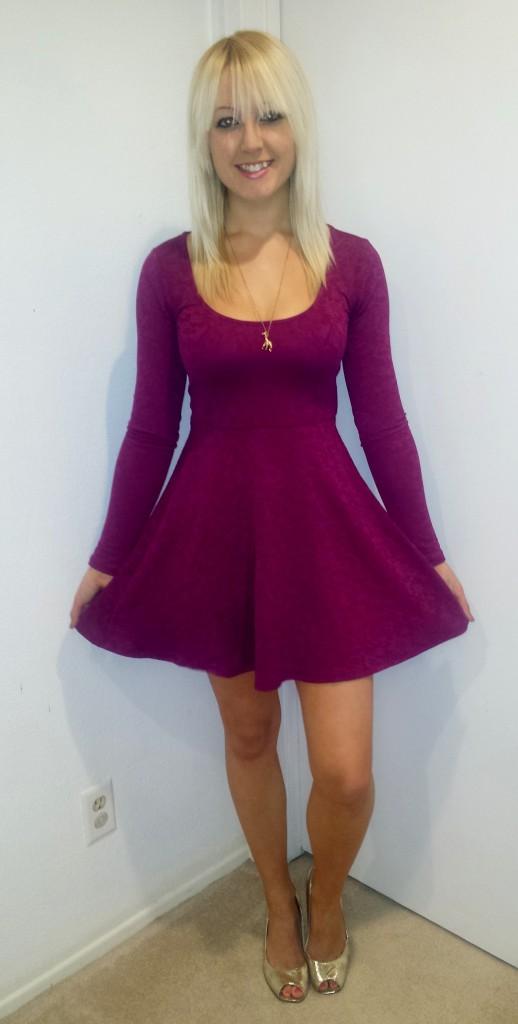 Pink Lace Dress 2