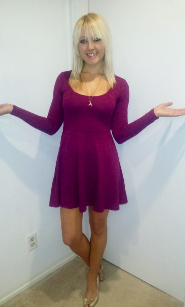 Pink Lace Dress 3