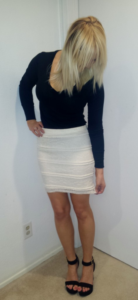 White Lace Skirt 3