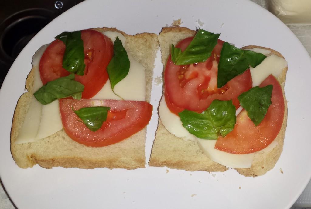 Caprese sandwich 3