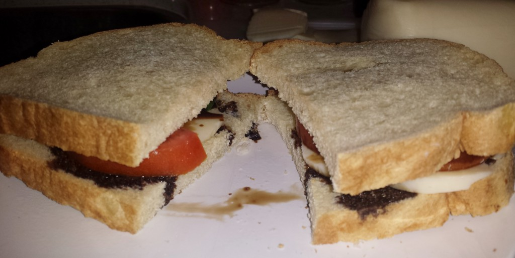 Caprese sandwich 5