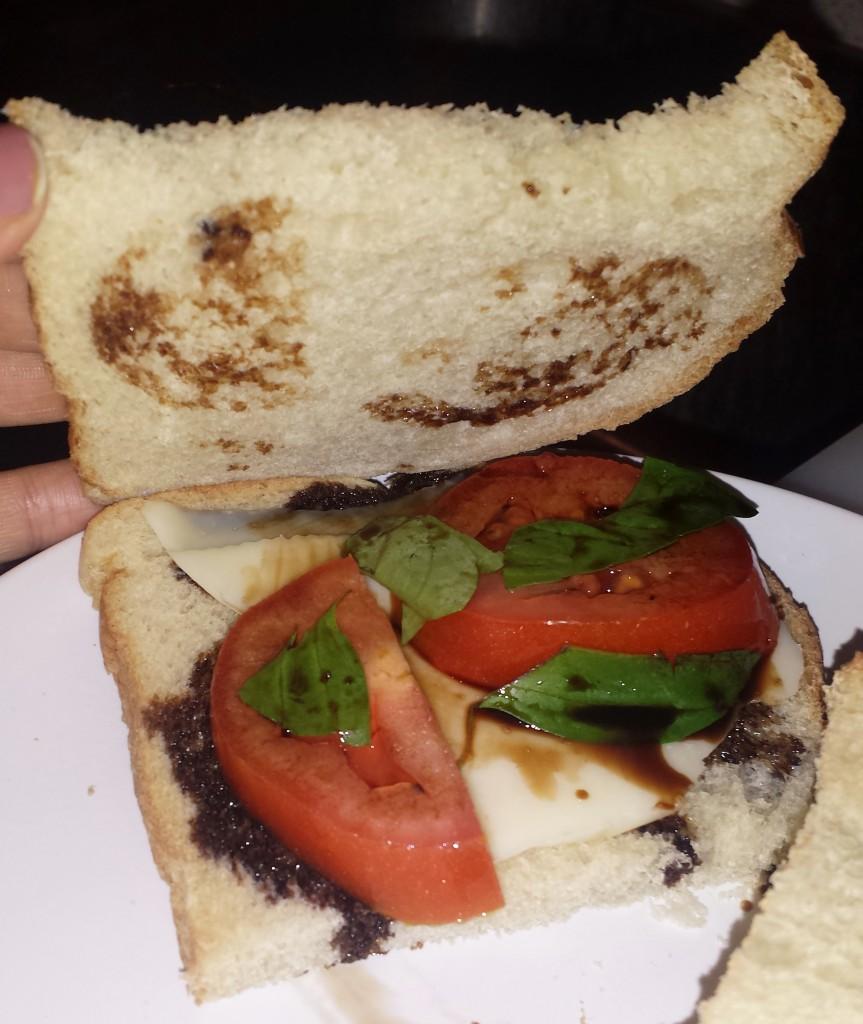 Caprese sandwich 6
