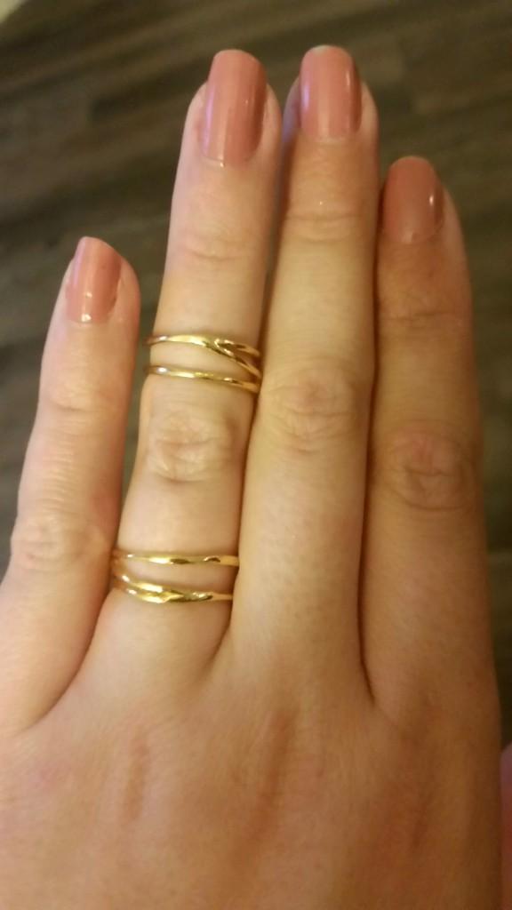 Gorjana midi rings
