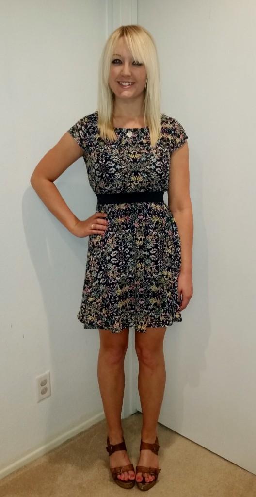 Floral Target Dress 3