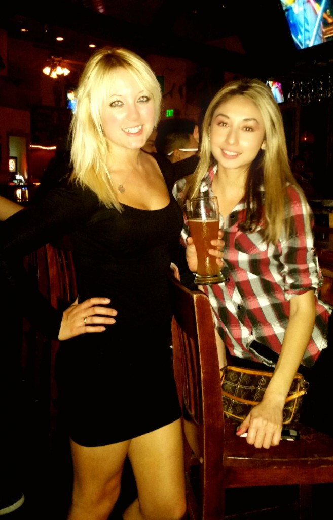 Saddle Ranch Me and Cindy