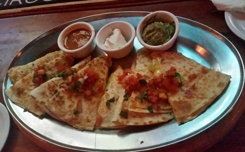 Saddle Ranch Quesadilla