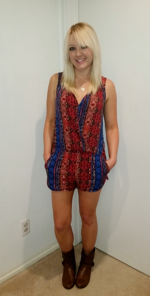 Tribal romper 1