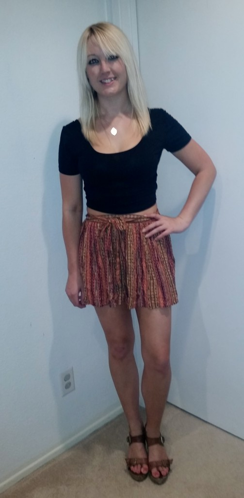 Tribal skirt 1