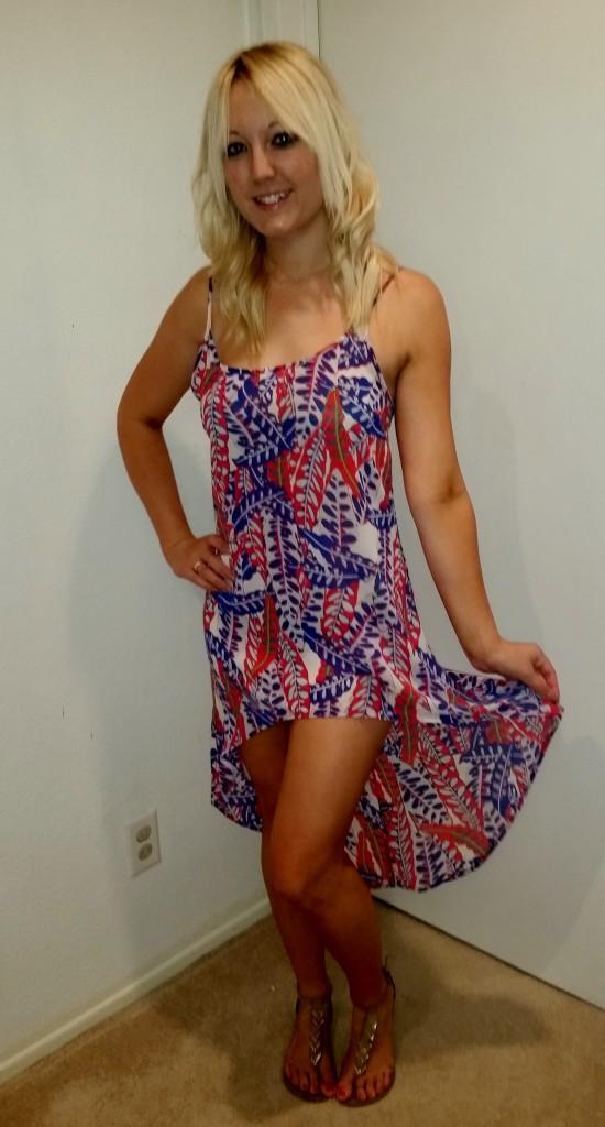 Paisley dress 2