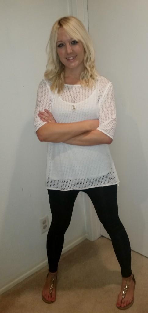 White eyelet shirt 4