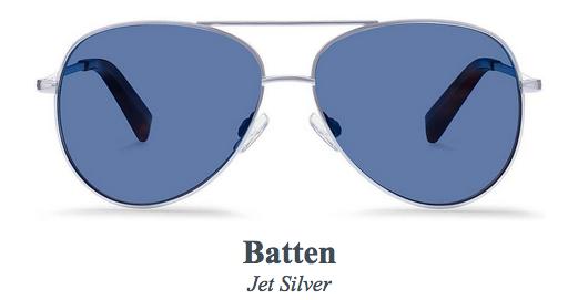 Batten Jet Silver