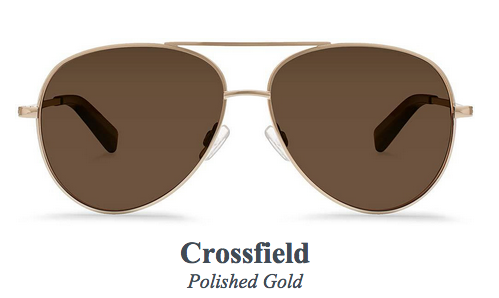 Crossfield Polished Gold